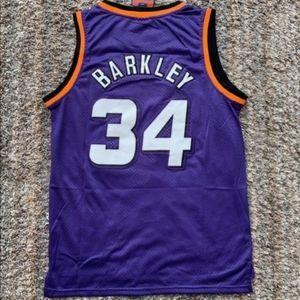 Charles Barkley Phoenix Suns Retro Purple Jersey